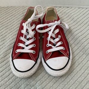 Converse All Stars Chuck Taylor Low Top Burgundy